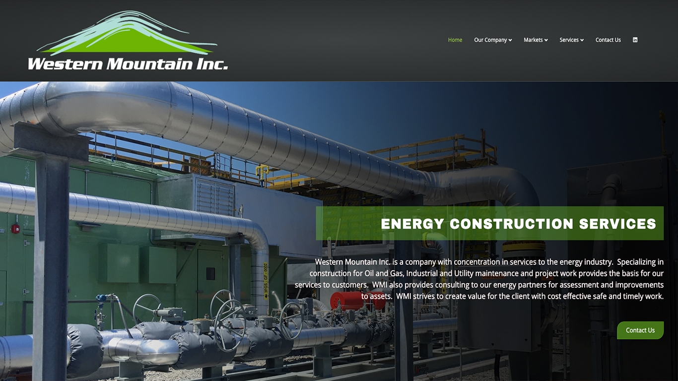 Western Mountain Inc Reflex Website Design