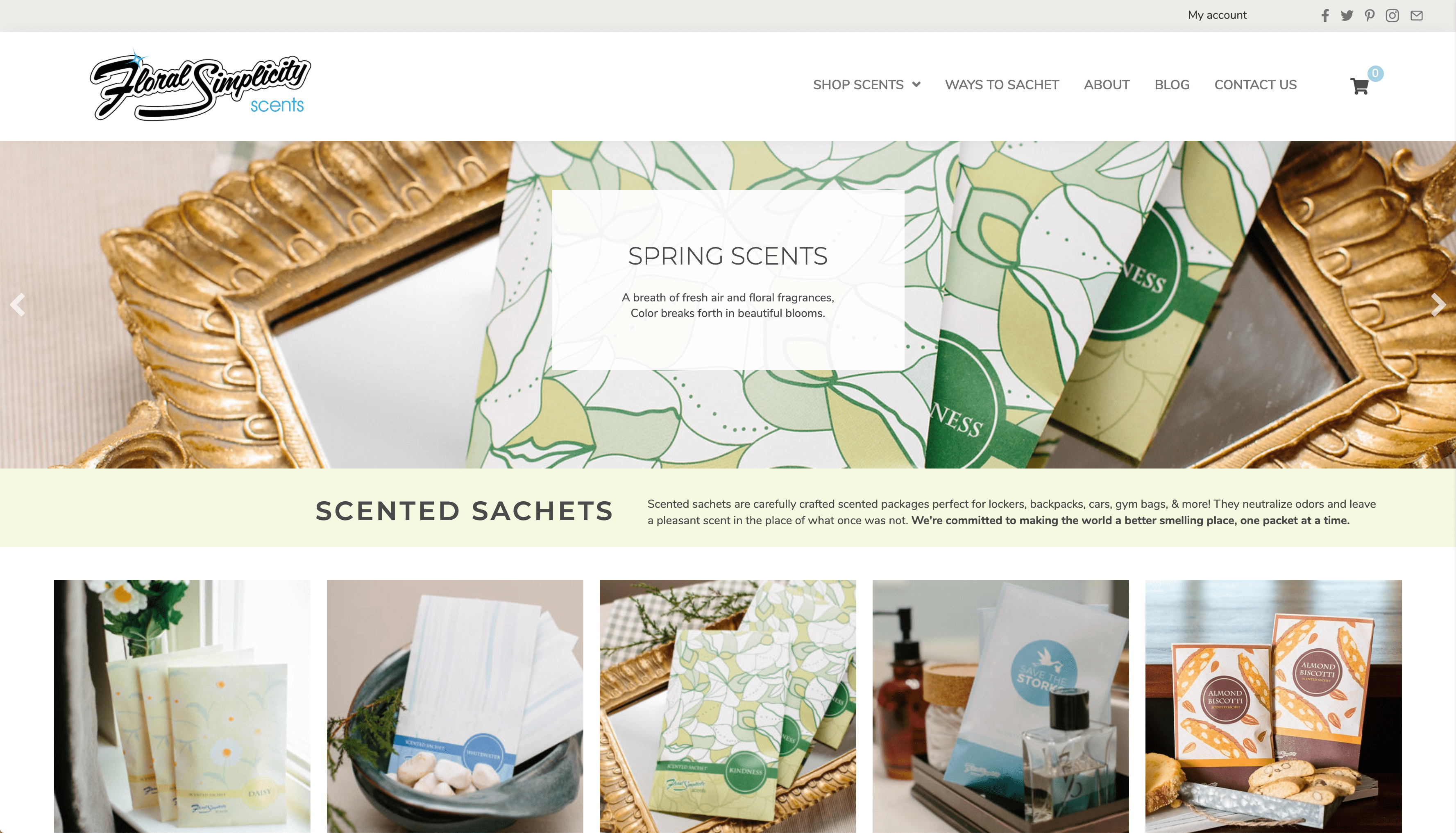 Reflex Brands - Pittsburgh Website Design And Digital Marketing Agency - Image Floral Simplicity