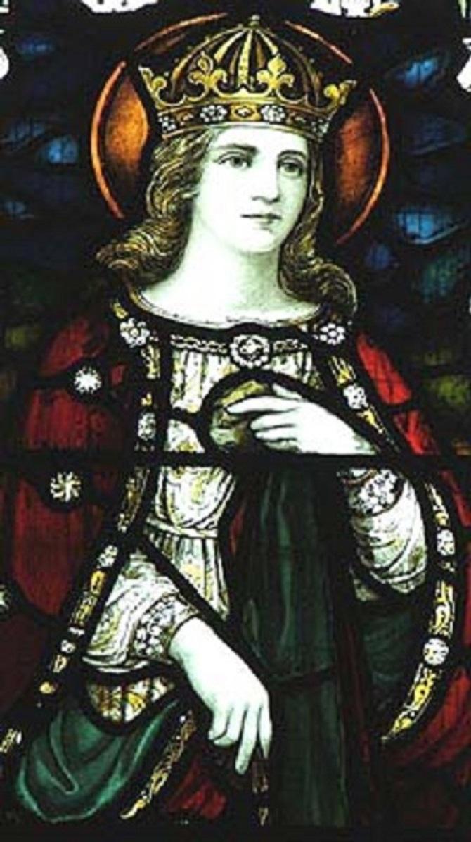 Sainte Gladys, princesse, veuve, Ermite († Ve s.). Fête le 29 Mars.