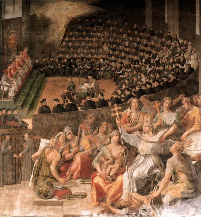 Council of Trent - Pasquale Cati Da Iesi