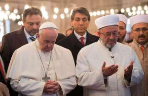 "Pope Re-Writes Scripture, Says God is a Pluralist Who Wills ""Diversity of Religions"""