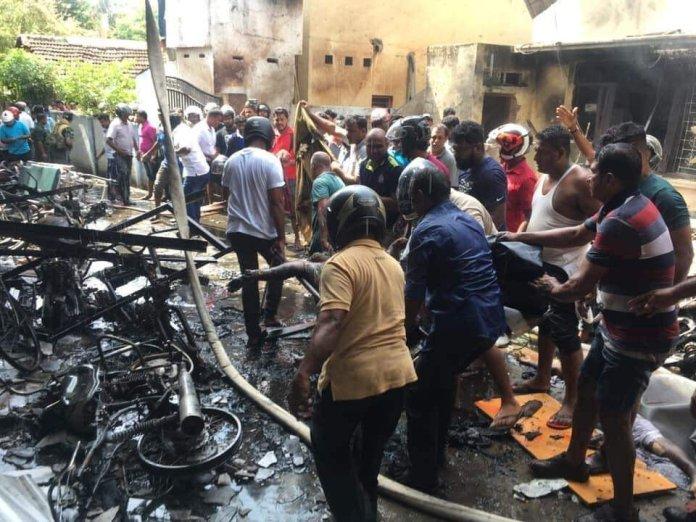 sri lanka catholic church bombing