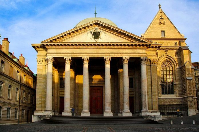 By Torbjorn Toby Jorgensen - St Pierre Cathedral, CC BY-SA 2.0