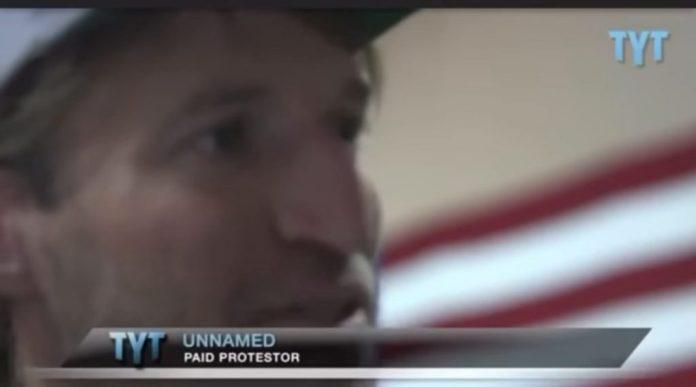 paid protestor riots soros
