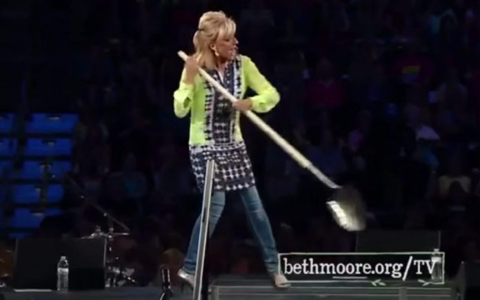 Beth Moore shovel