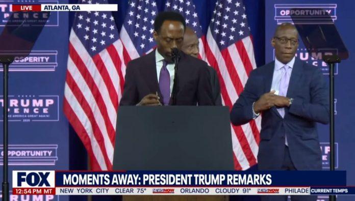 black pastors endorse trump in Atlanta