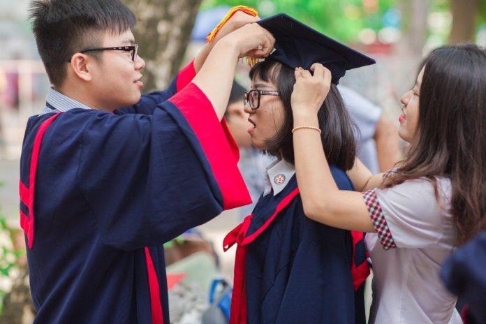 Asian Students Graduate