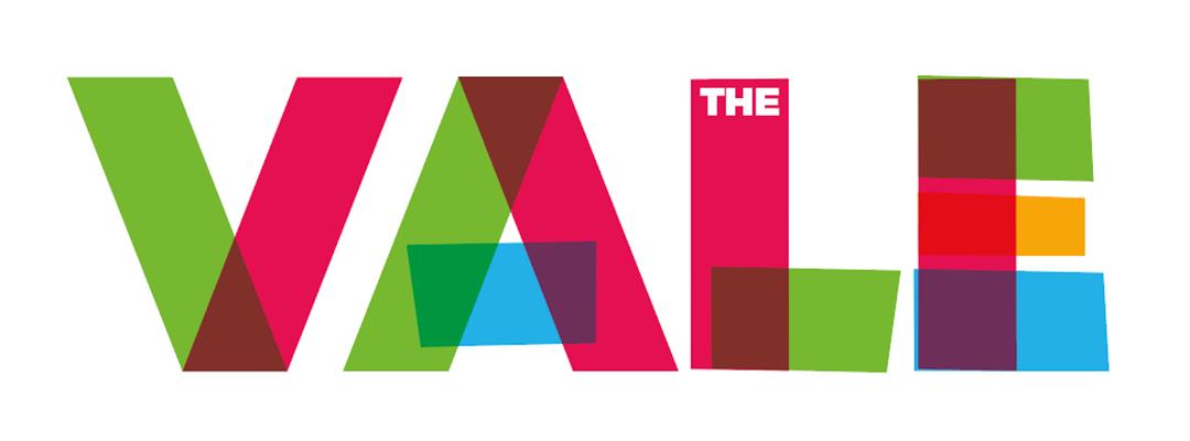 The Vale logo before development