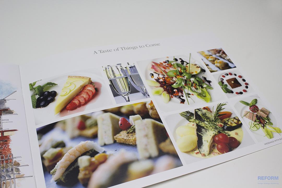 Wedding Brochure Food