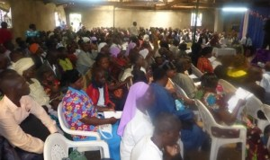 Hundreds of pastors and Church leaders attend these conferences across kenya