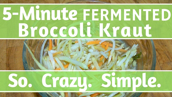 Fermented Broccoli Kraut