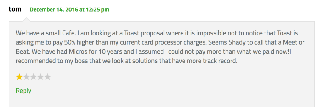 Is Toast Subsidizing Its Products to Rake It on Processing?