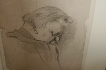 1932-Sketch-of-G.K.Chesterton-by-Sir-James-Gunn-RA