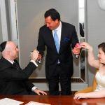 Ross & Shana: Signing Ketubah