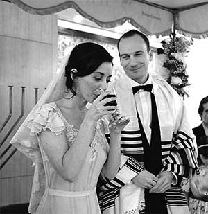 Jewish Wedding: Nissuin