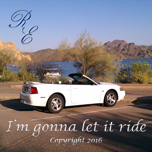 I'm Gonna Let It Ride - Copyright 2016 R.E. Fort
