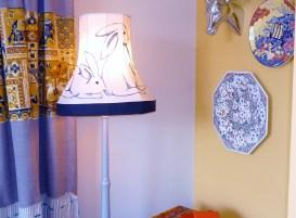 ReFound Hand-sewn Lamp by Cassie Binkley