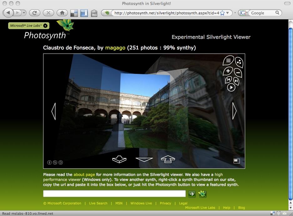 photosynth mac