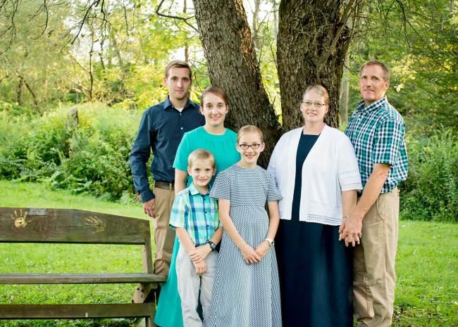 Janelle Burkholder Family