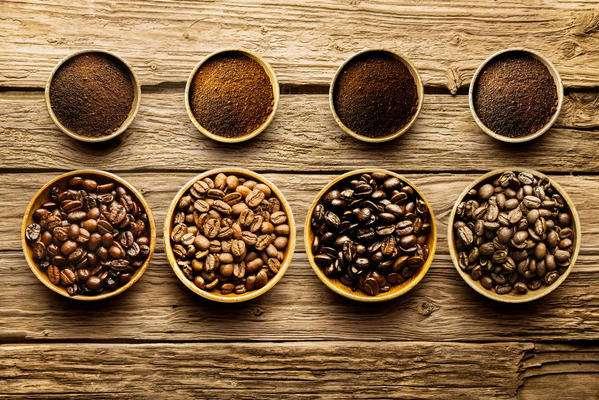 Grinding Of Coffee