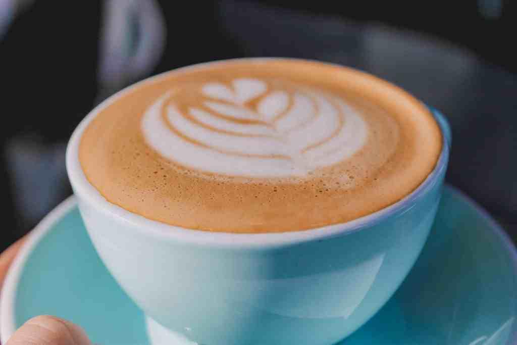 Latte coffee drinks