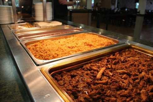 Dining Hall_Buffet_Food_Retreat