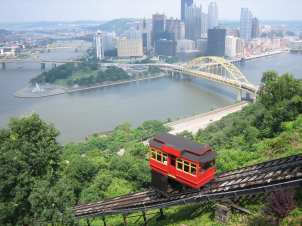 Duquesne Incline_Area Attraction_Summer_PA