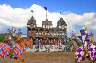 Pennsylvania Renaissance Faire_Jousting_Knights_Summer_Area Attractions