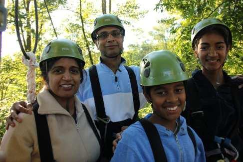 Ziplines_Challenge Adventure_Fall_Families