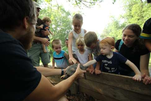 Nature Center_Turtle_Lesson_Staff_Summer_Hands On