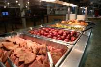 Dinner Dining Hall Buffet