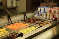 Fruit Bar Food Dining Hall
