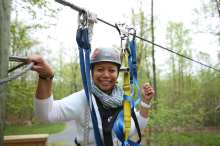 Flying V Zipline Spring Women Kingdom