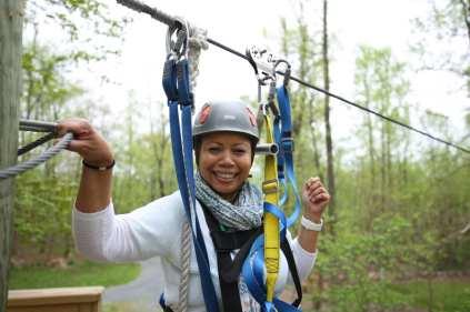 Flying V Zipline Spring Women Kingdom