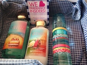 Refreshing Review: Endless Weekend, BBW's newest summer scent…and a BIG giveaway! #BBWInsider