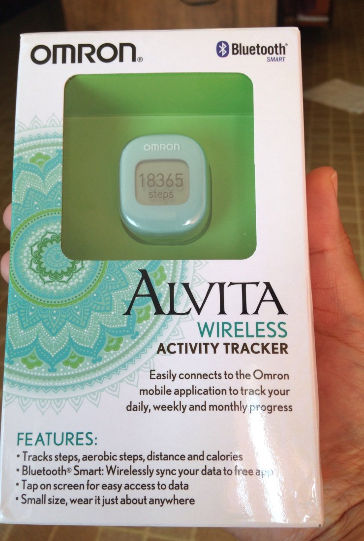 Omron Alvita wireless fitness tracker