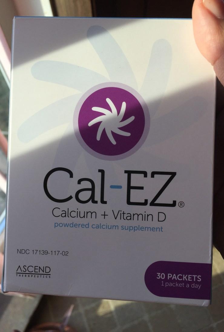 A fresh take: Cal-EZ powdered calcium supplement