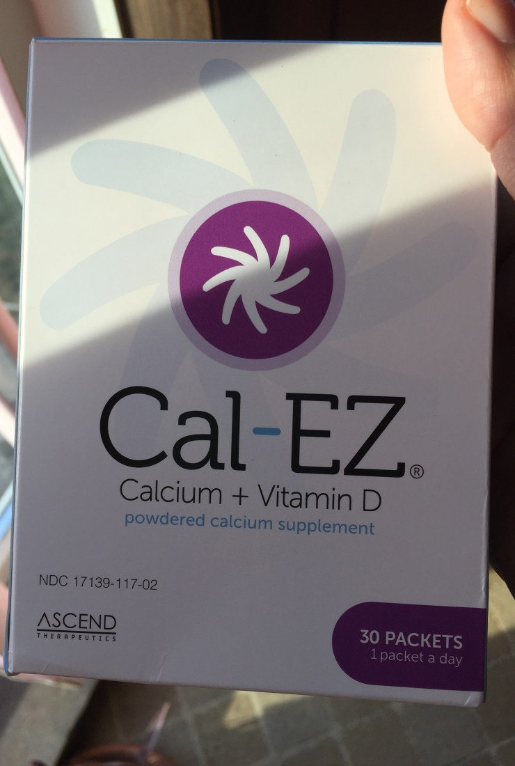 A fresh take: Cal-EZ powdered calcium supplement