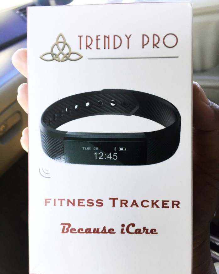 Trendy Pro's fitness tracker does way more than just count steps!