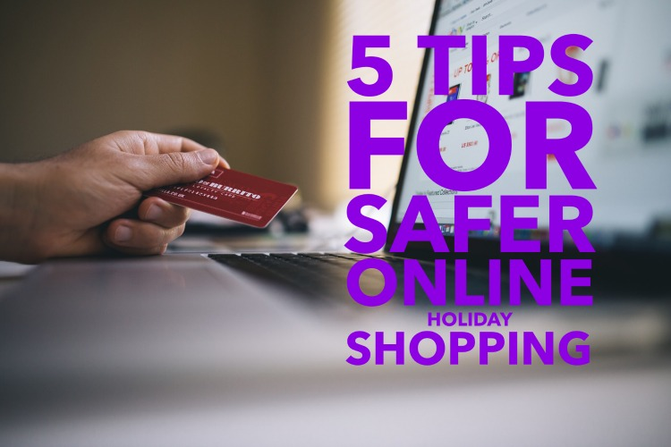 Shop online for holiday gifts with these few helpful tips!