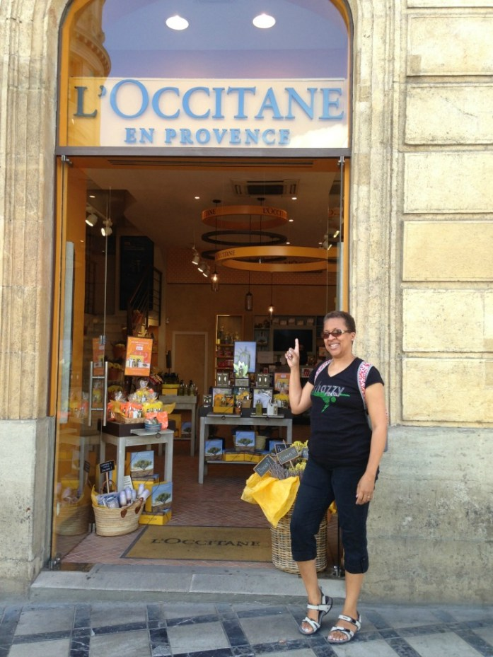 My first L'occitane boutique experience in the south of Spain!