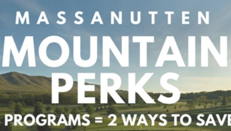New from Massanutten Resort: Massanutten Mountain Perks for Locals!