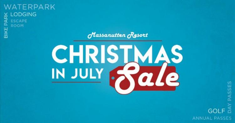 Massanutten Resort's Christmas in July Sale!