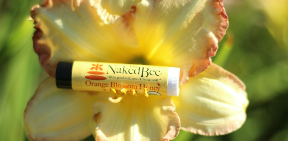 The Naked Bee products are both natural and beautiful, and they smell delicious!