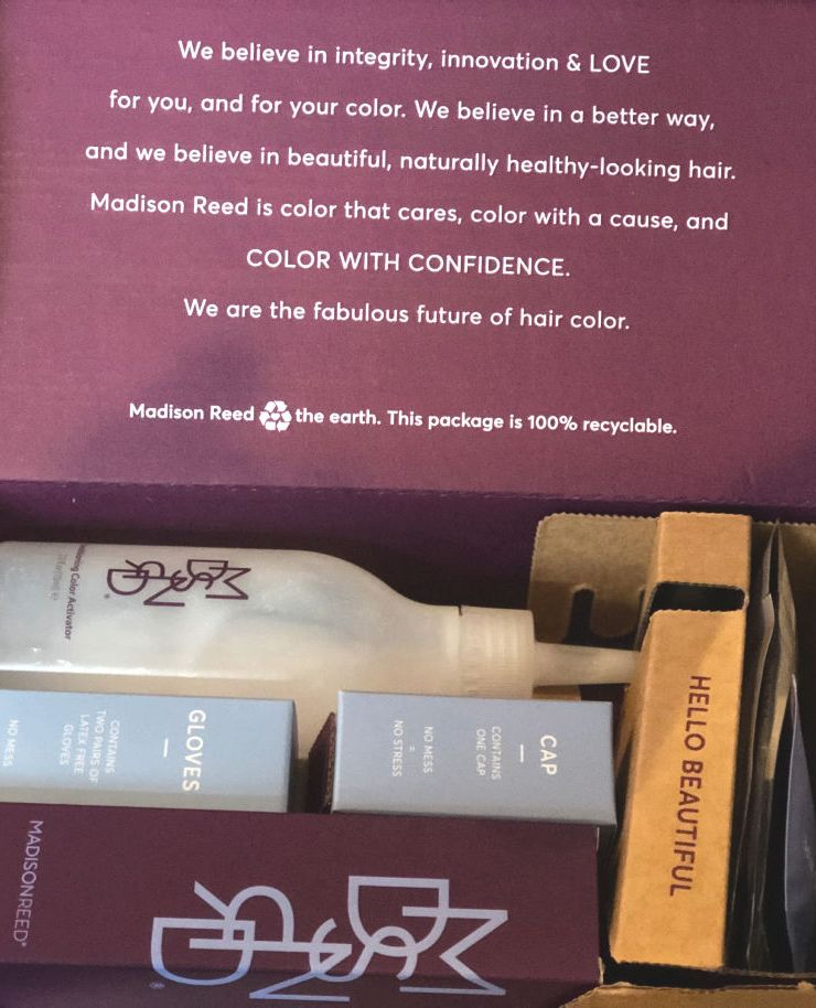 Refreshing Rapid Review: Madison Reed haircolor