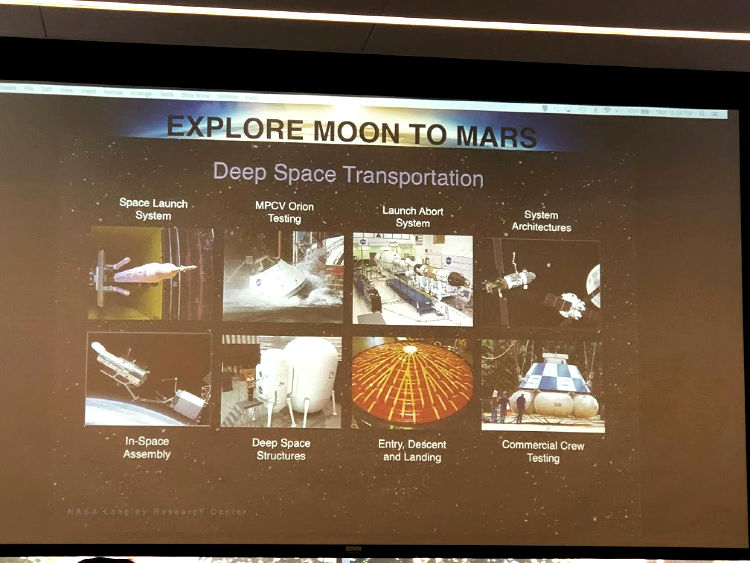 I learned a ton from NASA Langley Communications Team Lead, Rob Wyman.