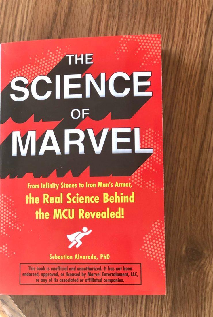 Refreshing Review: Sebastian Alvarado's The Science of Marvel