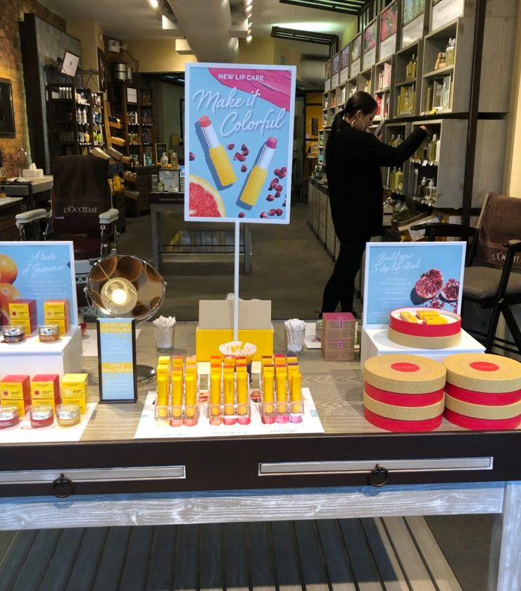 L'Occitane adds a new line of lip products and face masks!