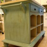 Kitchen Island From Red To Blue Refresh Restyle