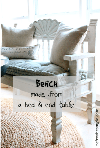how to make a bench   refresh restyle